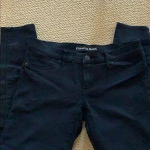 Express black legging jeans